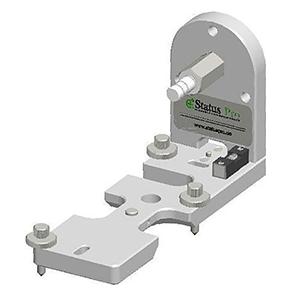 Bodenhalter f�r R310 Laser Empf�nger zur Aufnahme von Referenzlinien an Papiermaschinen, Druckwerken, Folienanlagen