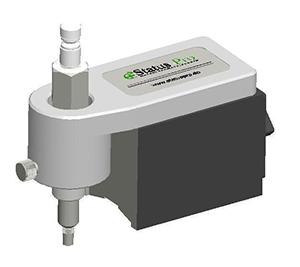 Magnet mit Tastspitze zur Erfassung von diskreten Punkten mit Aufnahme f�r R310 Laser Empf�nger