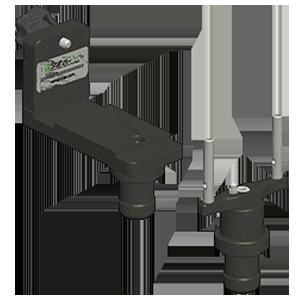 Adapter zur Messung der Parallelit�t von 2 Flanschen, Laservermessung, Flanschparallelit�t