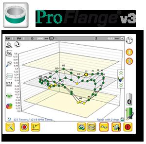 Software zur Flaschvermessung, Laser, Ebenheitsvermessung, Protokokollierung, PC