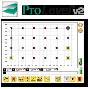 Software zur Ebenheitsmessung, Laser, Ebenheitsvermessung, Protokokollierung, PC