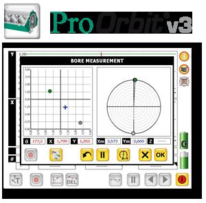 Software zur Vermessung von Lagergassen und Bohrungen, Laser, Bohrungsvermessung, Protokokollierung, PC